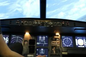 A320-212 Cockpit